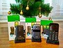 Vánoční soutěž o 3 mobilní telefony značky Doro