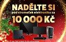 Získejte 750 Kč zdarma a vyhrajte vánoční elektroniku za 10 tisíc