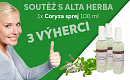 Soutěž o Coryza sprej 100 ml na nachlazení
