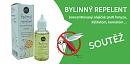 Soutěž o Bylinný repelent - koncentrovaný olejíček proti hmyzu, klíšťatům, komárům ...