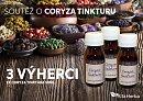 Nová soutěž o Coryza tinkturu