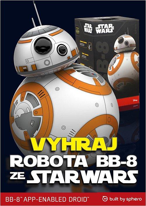 Originální droid BB-8 ze STAR WARS