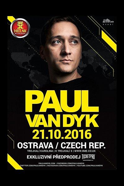 Vstupenky na koncert PAUL VAN DYK