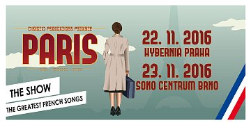 Vstupenky na PARIS THE SHOW do Prahy