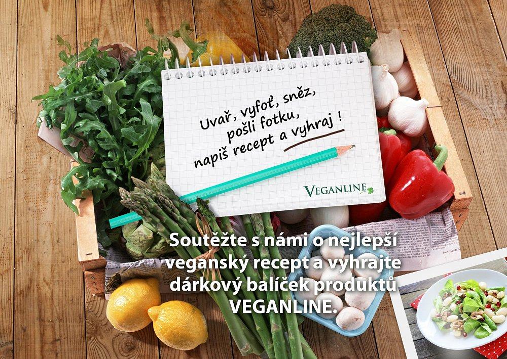 Veganline soutěž o nejlepší recept - Uvař, vyfoť, sněz, pošli fotku, napiš recept a vyhraj !