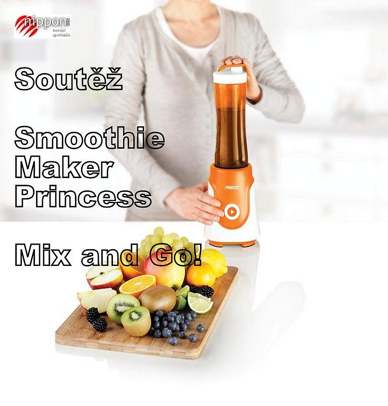 Soutěž o Smoothie Maker Princess 21 8000 - Mix and Go