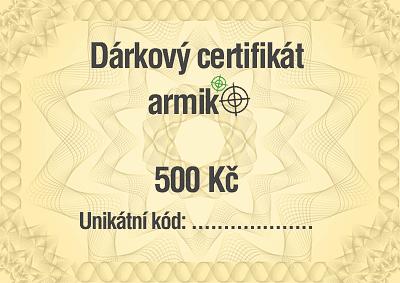 Soutěž o poukázku v hodnotě 500 Kč do eshopu Armik.cz