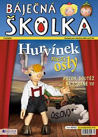 Časopis pro předškoláky BÁJEČNÁ ŠKOLKA
