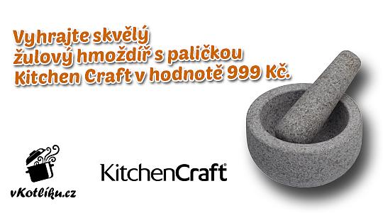 vKotliku.cz - Májová soutěž o žulový hmoždíř s paličkou Master Class za 999 Kč