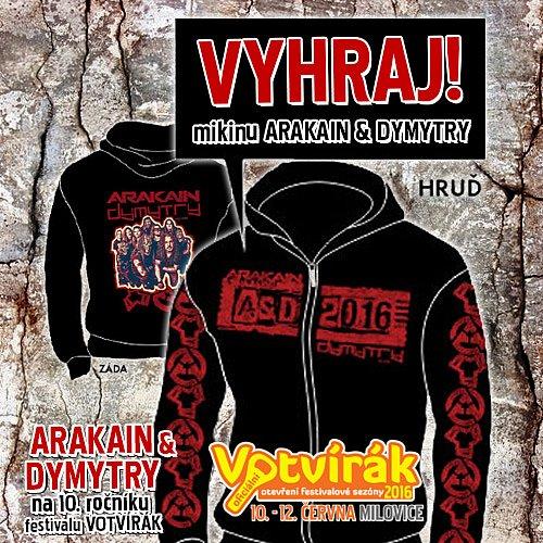 MIKINA ARAKAIN DYMYTRY TOUR 2016