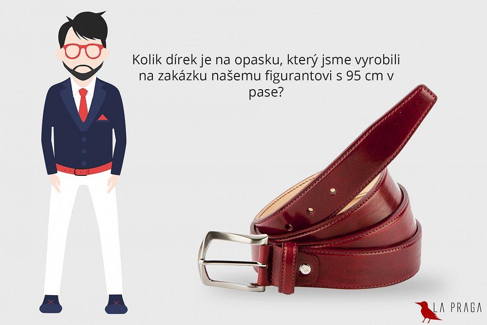 Soutěžte o luxusní kožený opasek vyráběný na zakázku v hodnotě 3 590 Kč nebo 13 dárkových poukazů v hodnotě 500 Kč