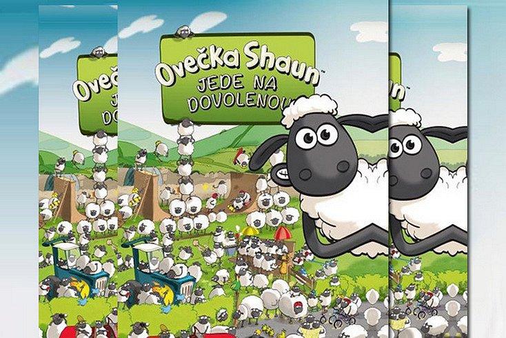 Vyhrajte knihu Ovečka Shaun jede na dovolenou!