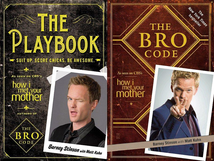 Soutěž o The Playbook a The Bro Code