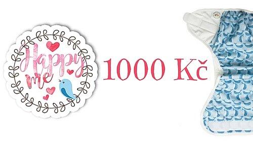 Vyhrajte Happy Me poukaz na nákup v hodnotě 1.000 Kč