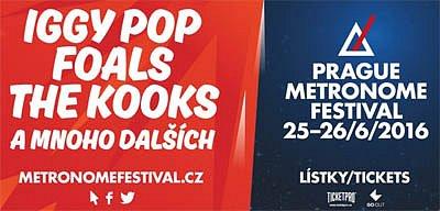 Soutěž o vstupenky na Metronome festival