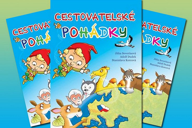 Vyhrajte krásnou dětskou knihu Cestovatelské pohádky!