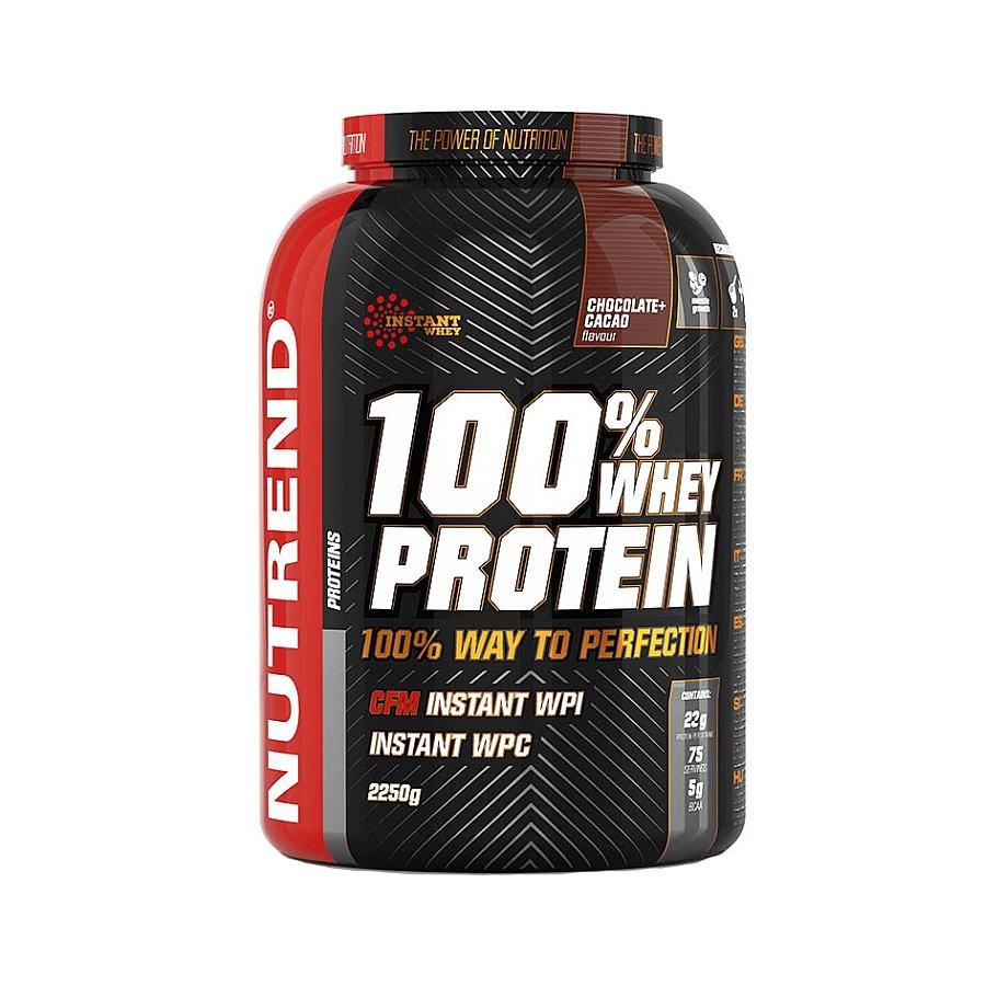 Hrajte o protein 100% Whey Protein od Nutrendu