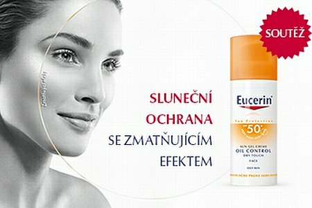 Soutěž o 10 balíčků opalovací kosmetiky Eucerin