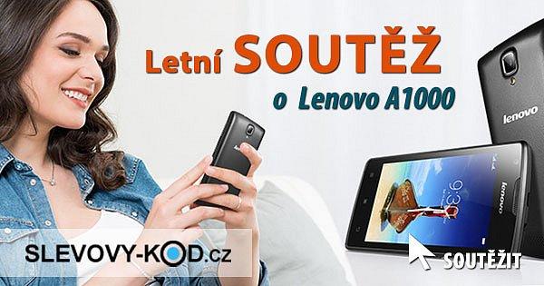 Letní SOUTĚŽ o Lenovo A1000 z Kasa.cz
