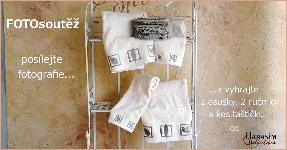 Vyhrajte výbavičku na dovolenou - 2 osušky, 2 ručníky a kosmetičkou taštičku