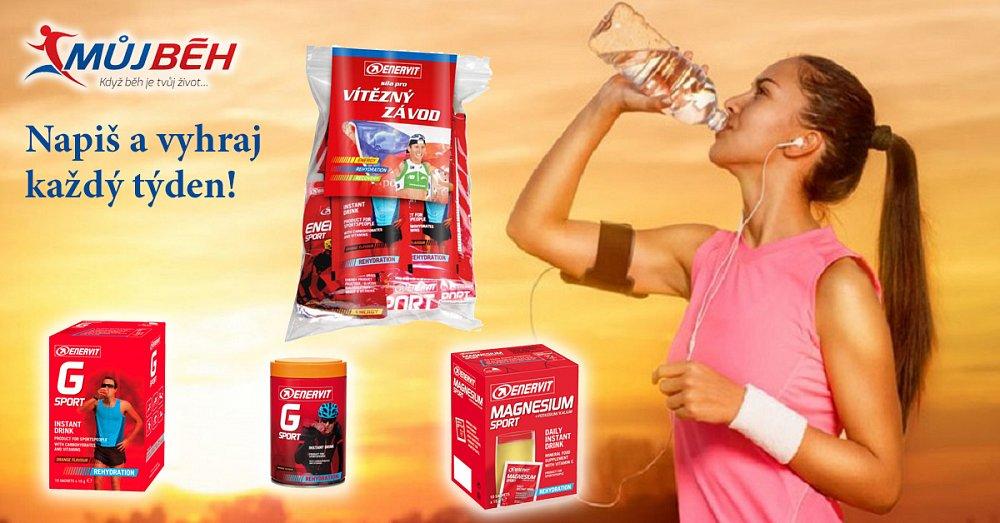 Červnová soutěž o doplňky výživy pro běžce
