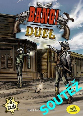 SOUTĚŽ o herní novinku BANG! Duel od ALBI