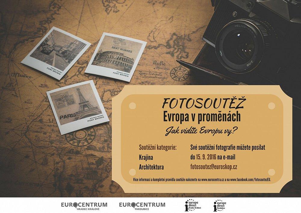 Fotosoutěž Evropa v proměnách
