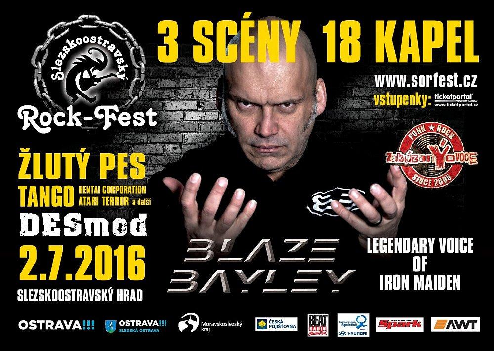 Vstupenky na Slezskoostravský Rock-Fest