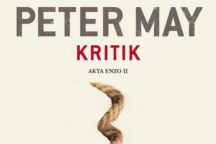 Vyhrajte krimi thriller Petera Maye KRITIK!