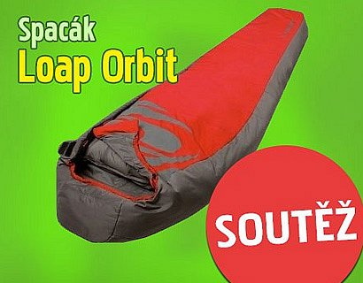 Vyhrajte značkový spacák LOAP ORBIT