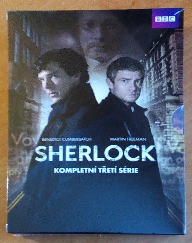 Soutěž o kompletní třetí sérii seriálu Sherlock na DVD