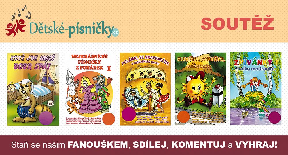 Soutěžíme s eshopem Dětské-písničky.cz
