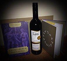 Soutěž o láhev kvalitního bílého vína a o knihu S horoskopem do postele!