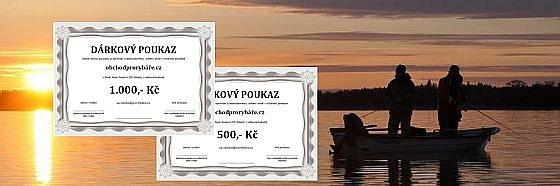 Velká 14denní soutěž o poukazy k nákupu rybářských potřeb a vtipných dárků