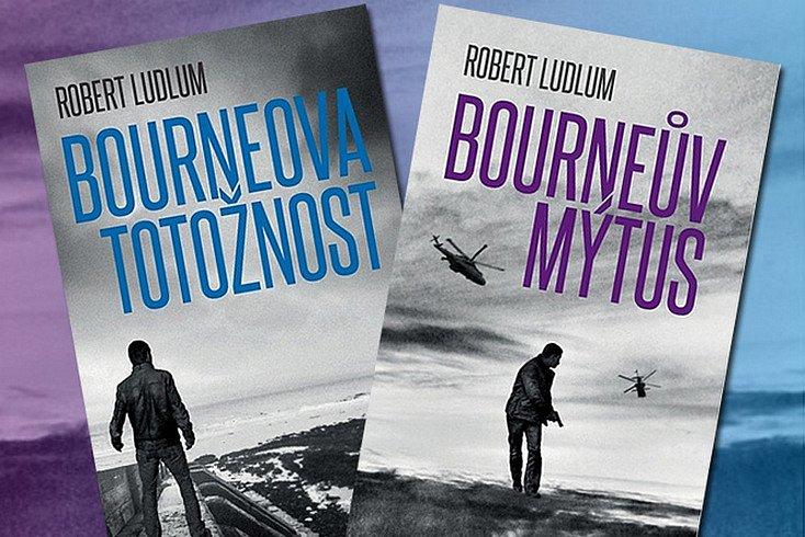 Vyhrajte jednu knihu Bourneova totožnost nebo Bourneův mýtus!