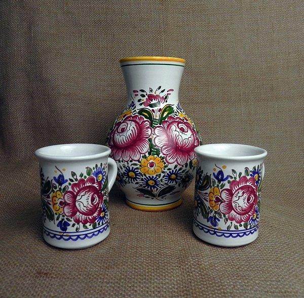 Soutěž o ručně malovaný džbán a hrníčky