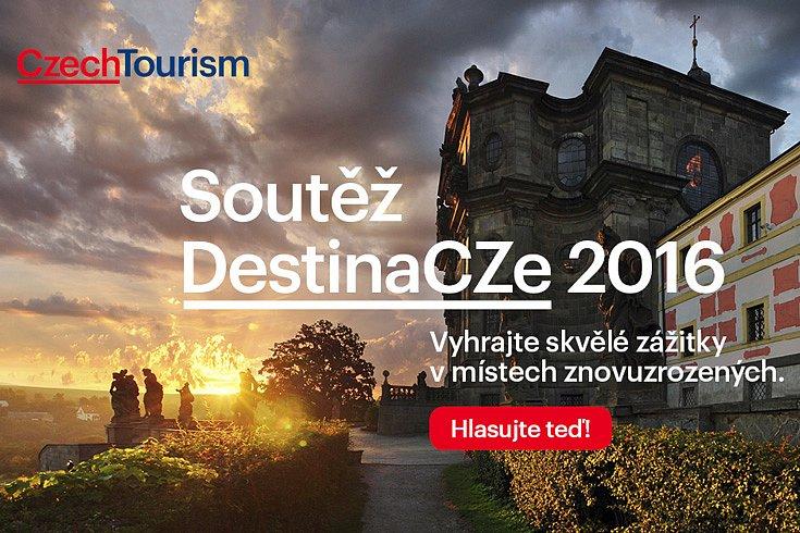 Vybírejte nejlepší místa v Česku. Hlasujte v soutěži DestinaCZE 2016 a vyhrajte skvělé zážitky!