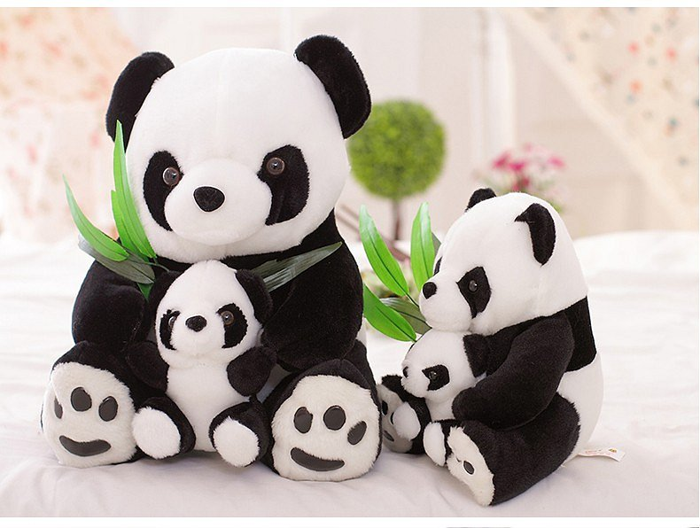 Soutěž o velké plyšové pandy