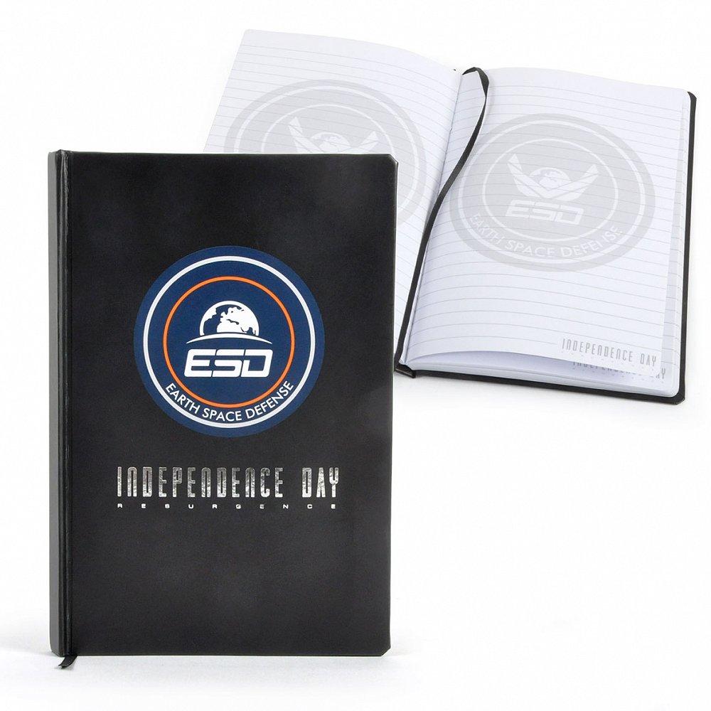 Zápisník a modýlek měsíčního vozidla k filmu Den nezávislosti: Nový útok