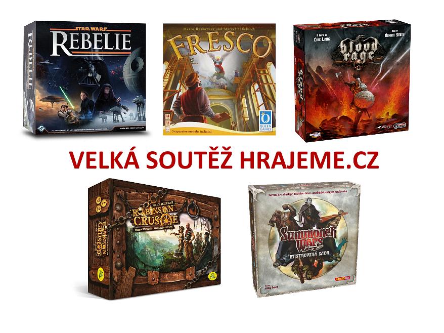 Velká soutěž Hrajeme.cz – Hraj, hodnoť, vyhraj 2016 o skvělé hry