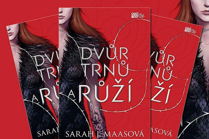 Vyhrajte mrazivě romantický fantasy příběh – knihu Dvůr trnů a růží!