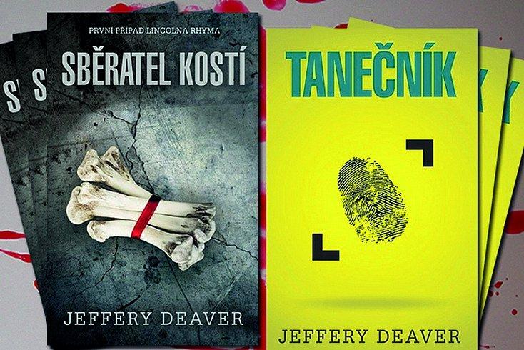 Vyhrajte jeden z krimi thrillerů Jeffery Deavera!