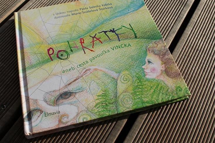 Vyhrajte knížku pohádek, obrázek a pexeso v hodnotě 700 Kč!