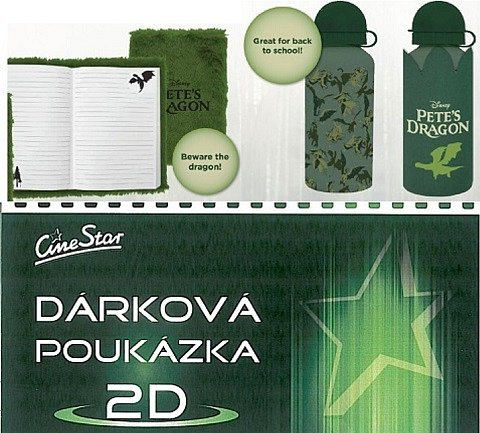 Soutěž o 5x pohádkový balíček s filmem Můj kamarád drak