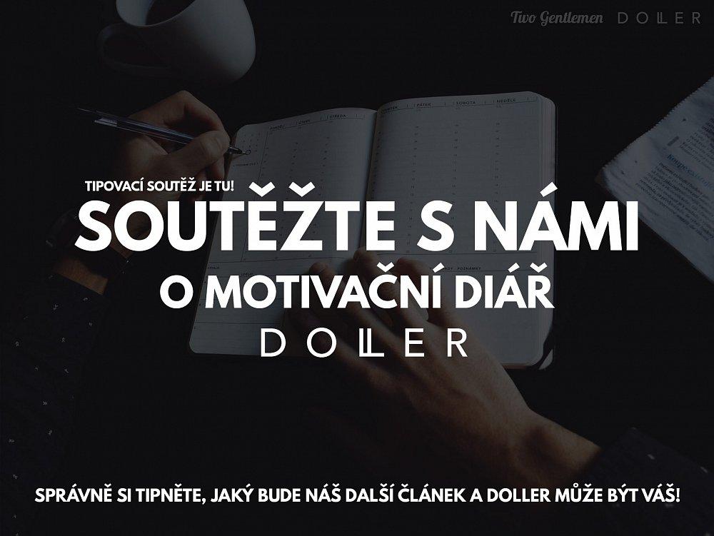 Tipovací soutěž o motivační diář Doller