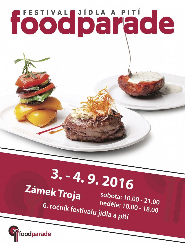 Soutěž o vstupenky na Foodparade 2016