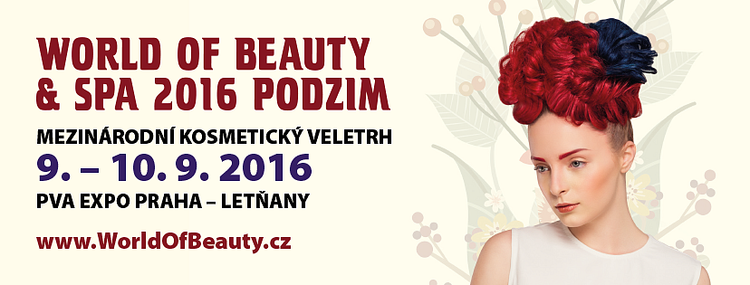 SOUTĚŽTE O VSTUPENKY NA VELETRH WORLD OF BEAUTY AND SPA 2016