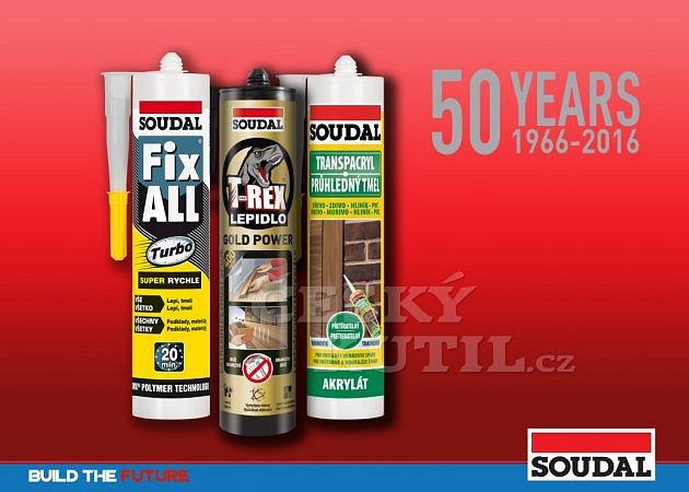 Soutěž o 3 balíčky produktů SOUDAL