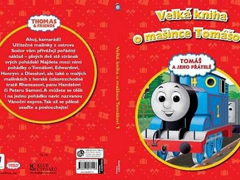 Soutěž o 3x knihu Velká kniha o mašince Tomášovi