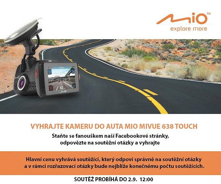 Soutěž o Mio MiVue 638 Touch